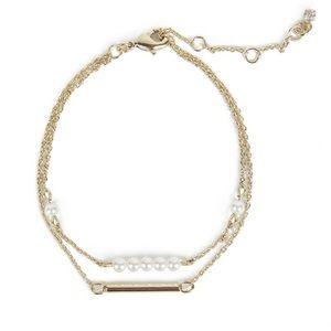 "NEW Carolee Daisy bracelet 6"""